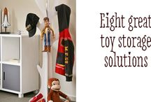 Baby/children's bedroom storage ideas