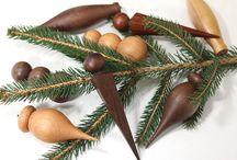 Handmade Wooden Ornaments