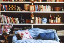 Study of Mine / Books, shelves, touches of comfort... Everything a study should be!