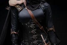 Seths Assassins / Seth warrior, costumes, sidearm and cloth