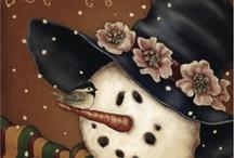Snowmen  Christmas &  Love / by Dee Conaway