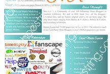 Work - Blog Media Kit / by Emily Chapelle