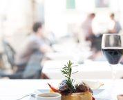 Comida / La cocina de Vino Mio es creativa con entre otros platos exoticos.