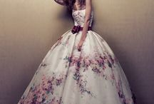Fluffy dresses