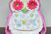 Diaper crafts