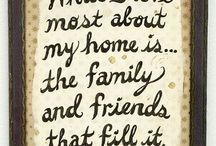Family & freinds / Love