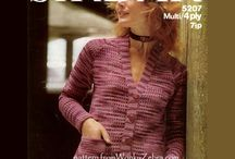 crochet jackets and cardigans / basic crochet shapes for cardigans, cardies and jackets