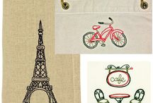 Machine Embroidery Ideas / Ideas for machine embroidery projects / by MiMi