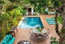 Garden, terrace