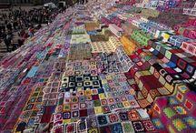 Hekl, þæfing & prjón / crochet, felting & knitting