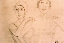 Alex Katz Drawings