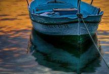 Łódka morze