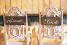 Custom Signs / Perfect signs for any rustic wedding.