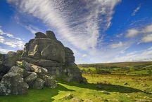 Dartmoor / Dartmoor: wild, moody, with windswept tors, hardy ponies and small villages serving cream teas. http://www.secretearth.com/destinations/247-dartmoor-national-park