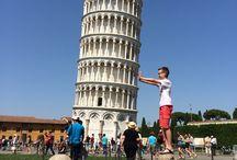 Toren van Pisa!