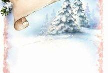 papier à lettres de Noël