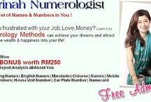 Numerology Numbers / by michels corlin