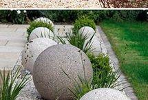 Garden sculptures