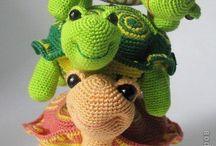 Amigurumi tartarughe