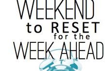 Organise weekend