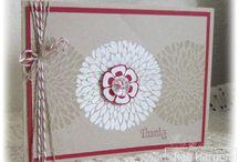 Stampin up Betsys blossoms