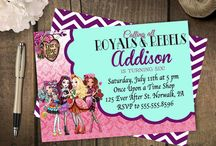 Party Planning: Ever After High Party