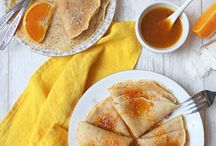 Crepes and pancakes • Chandeleur • Pancake Day