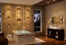 Bathroom Oasis  / Beautiful bathroom spaces & details
