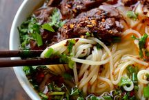 NOODLE BOWLS/ Asian Persuasian / by Michele Leavitt