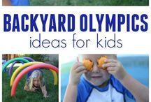 Preschool Olympics / Ideas for olympic themed activities