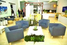 Chillout Zone / Original furniture and accesories specifically for chiilout zone. All natural and modern. #natural #furniture #event