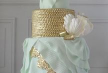 gâteaux mariage luxe