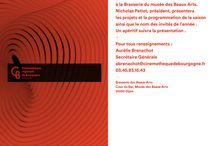 Conférence de presse / Dijon 24/09