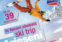 Sky Trip Arieseni / Euromaidec Touring organizeaza saptamanal excursii la partia Vartop, Arieseni. Vino si tu cu doar 39RON la Sky Trip Arieseni