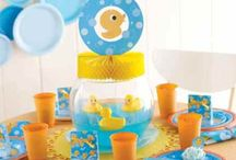 Party theme - Rubber ducky