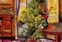 Tavolo con vaso