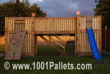 Recycled natural ideas for playgrounds