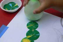 Inspirasjon - å lage med barna (DIY KIDS) / Kunst og håndverk for barn