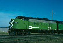 Train - BN - Burlington Northern