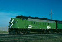 Train - BN - Burlington Northern