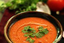slurp soups / Soup of the evening, beautiful Soup! -- Lewis Carroll
