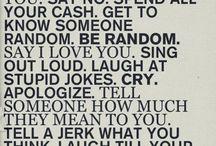 quotes / by Allison Cotchen