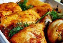 zapiekany kurczak