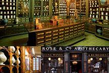 Apothecary Bar Inspiration