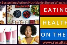 Eating Healthy On The Road / An Eight-Day ecourse that Teaches my community how to eat on vacation, during lunch, traveling between jobs. Staying healthy throughout the day.