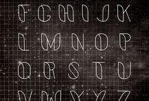 Czcionki pismo ręczne