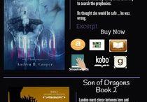 Legends of Oblivion series / Fantasy / Paranormal romance #PNR www.andreaRcooper.com