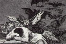 Francisco Goya / Francisco José de Goya y Lucientes (ur.1746 w Fuendetodos, zm.1828) – hiszpański malarz, grafik i rysownik okresu romantyzmu, nadworny malarz Karola III Burbona, Karola IV Burbona i Ferdynanda VII Burbona, portrecista i malarz scen rodzajowych.