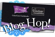 Blog Hop with Core'dinations #couturecreations  / Couture Creations Design Team Blog Hop with Core'dinations Design Team June 2013 #CoutureCreations #Coredinations
