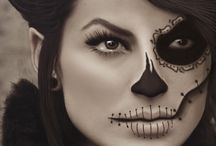 mexican scull makeup